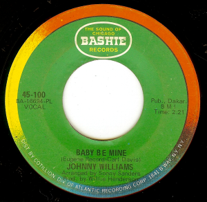 Johnny Williams - Baby Be Mine