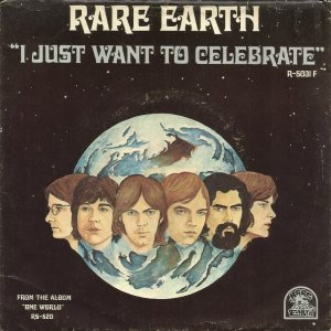 Rare Earth-I Just Want To Celebrate