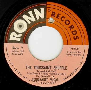 Toussaint McCall - Toussaint Shuffle