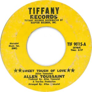 Allen Toussaint - Sweet Touch Of Love