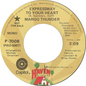 Margo Thunder - Expressway To Your Heart