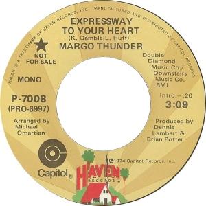 Margo Thunder - Expressway To Your Heart
