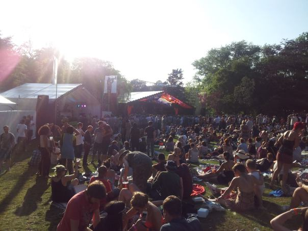 The crowd @ Mostly Jazz