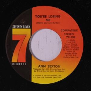 Ann Sexton - You're Losing Me