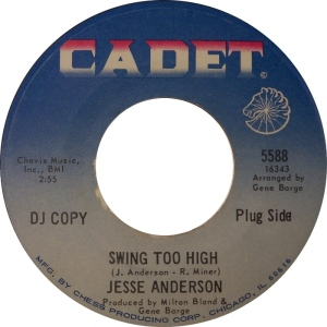 Jesse Anderson - Swing Too High