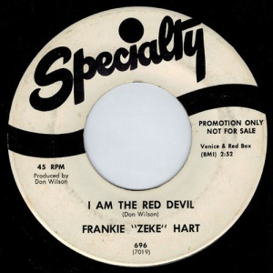 Frankie Zeke Hart - I Am The Red Devil