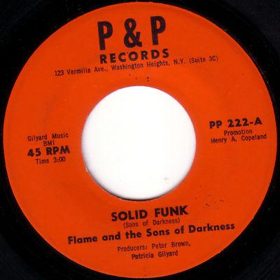 Flame & Sons Of Darkness - Solid Funk