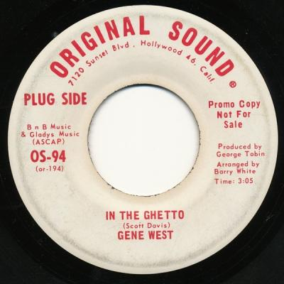 Gene West - In The Ghetto