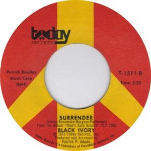 Black Ivory- Surrender
