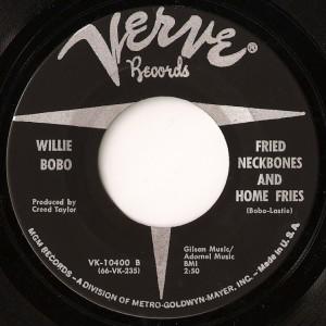Willie-Bobo - Fried Neckbones & Some Home Fries
