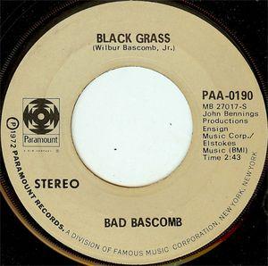 Bad Bascomb - Black Grass