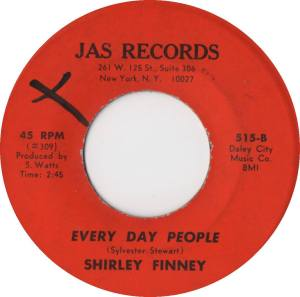 Shirley Finney - Everyday People