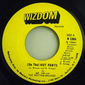 Mr Jim Rhythm Machine - (Do The) Hot Pants
