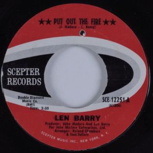 Len Barry - Put Out The Fire