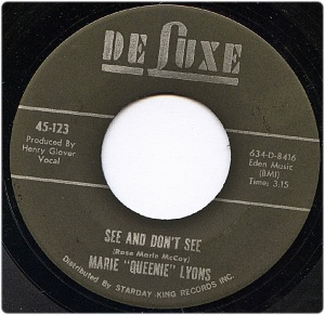 Marie Queenie Lyons - See And Don't See