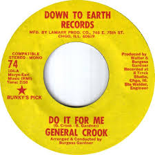 General Crook - Do It For Me