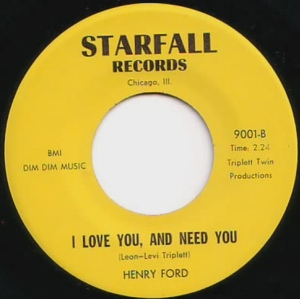 Henry Food - I Love You, And Need You