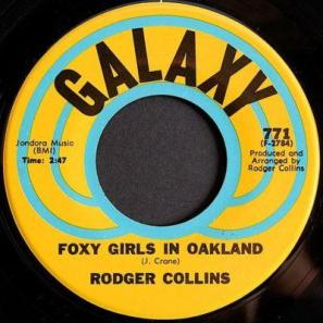 Rodger Collins - Foxy Girls In Oakland