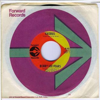 Bobby Lee Fears vinyl
