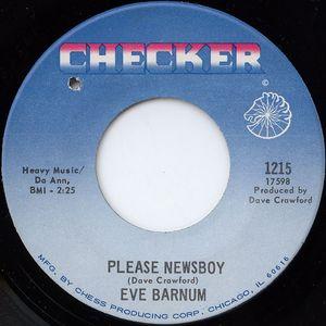 Eve Barnum - Please Newsboy