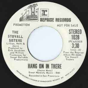 Stovall Sisters - Hang On In There